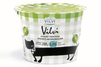 yaourt à la groseille à maquereau vilvi