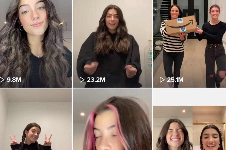 Charli D'Amelio: plus de 100millions d'abonnés TikTok, une première