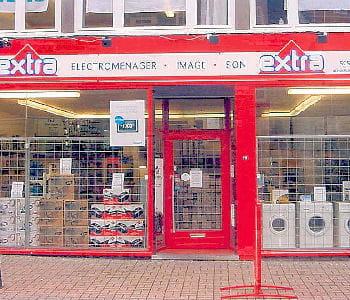 un magasin breton d'électroménager.