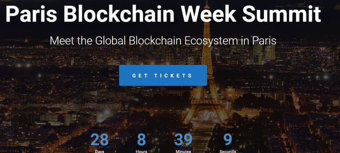 Le Paris Blockchain Week Summit se tiendra les 16et 17avril à Station F
