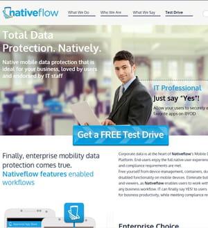 nativeflow protège les données des employés sur leurs devices.