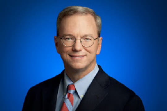 15déclarations insolites d'Eric Schmidt, président de Google