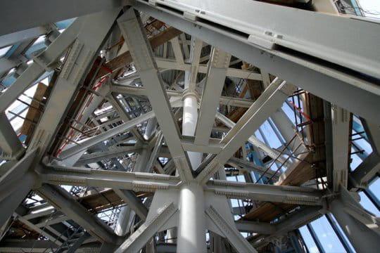 Intérieur du sommet de Burj Dubai