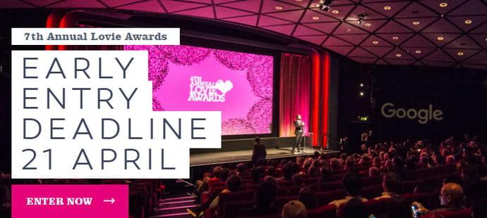Vous avez jusqu'au 28juillet pour candidater aux Lovie Awards