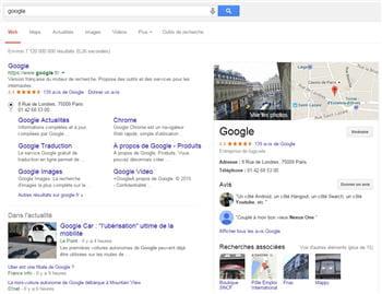 google s'est classé premier de notre classement webperf du mois de janvier, avec
