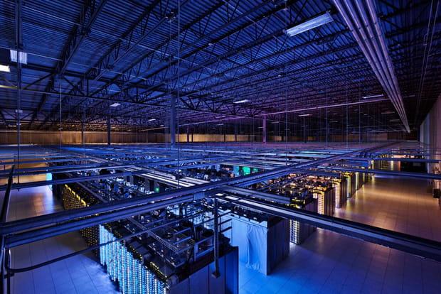 Des datacenters de 10000mètres carrés