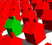 evitez de placer votre maison en bas à gauche, dans la zone symbolisant les
