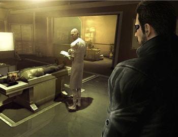 capture d'écran du jeu deus ex : human revolution.