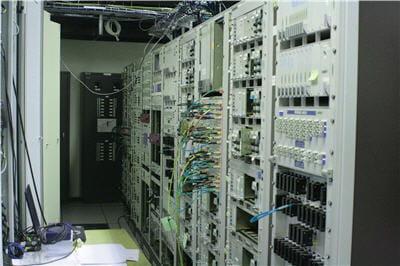 salle serveurs du réseau de diffusion analogique de tdf