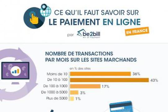 Infographie: Ce qu'il faut savoir sur le paiement en ligne en France