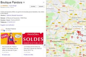 Avec le SDO, Pandora a attiré les clients par milliers dans ses boutiques