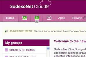 Sodexo mise sur Jive pour son réseau social d'entreprise