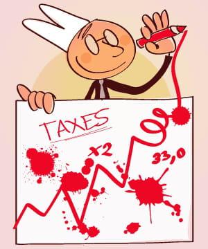 extraits du livre 'le bêtisier fiscal', derobert matthieu, éditions albin