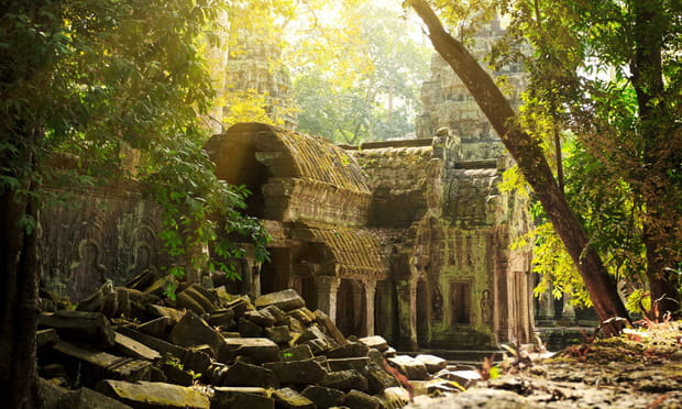 Angkor (Cambodge): mystérieuse