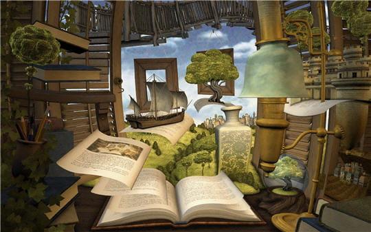 Perdu dans un bon livre