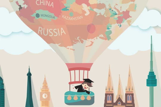 Les déplacements des étudiants du monde entier simplifiés en une infographie