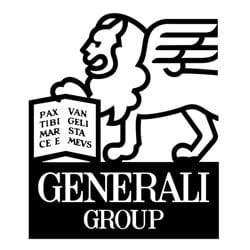 le logo de l'assureur generali en entier
