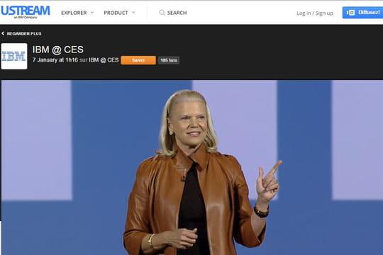 IBM s'offre UStream et lance une activité dédiée au streaming vidéo