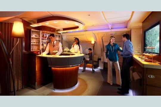 Business class Emirates