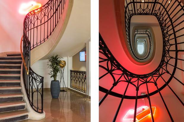 Un escalier classé
