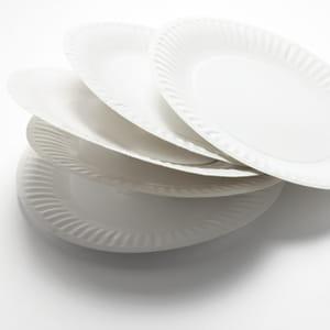 le prix de la vaisselle jetable en grande distribution a diminué de 2,59% entre