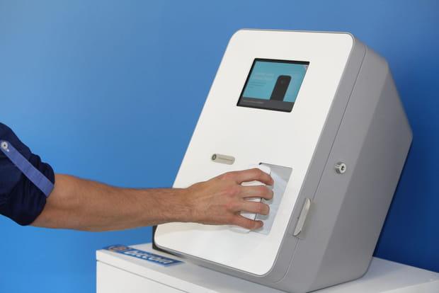 ATM à bitcoins