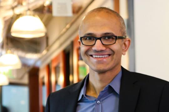 """Satya Nadella : """"réinventer Microsoft pour asseoir la longévité du groupe"""""""