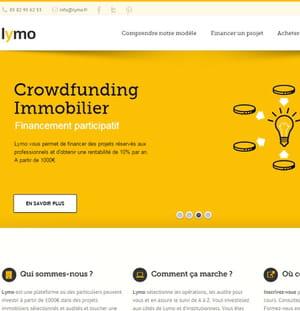 lymo promet un rendement de 10% sur ses projets de promotion.