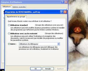 sous windows, la stratégie de sécurité d'active directory permet de paramétrer