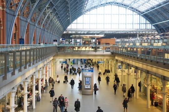 Une start-up française va digitaliser la gare Saint-Pancras à Londres