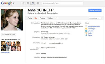 profil google plus d'anne schnepp