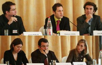 de gauche à droite et de haut en bas : j. morlon (benchmark group), s. aknin