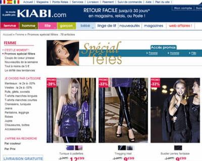 sur kiabi.com