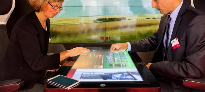 Le train 2.0 d'Alstom sera connecté et personnalisable