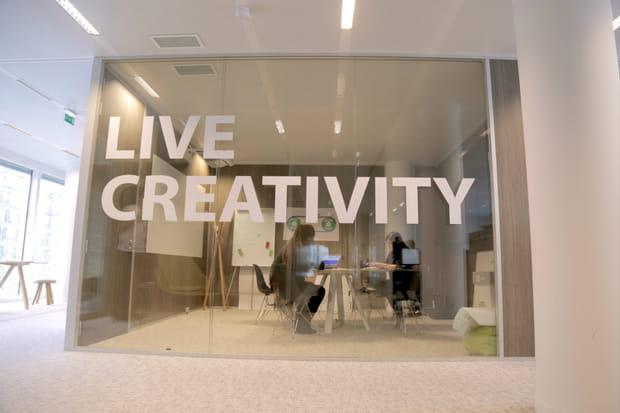 Un espace créativité