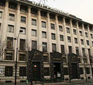 le siège de bnp-paribas, à paris.