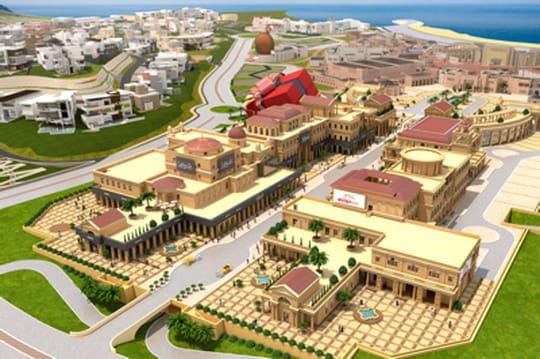 Katara Plaza, le futur centre commercial extravagant  du Qatar
