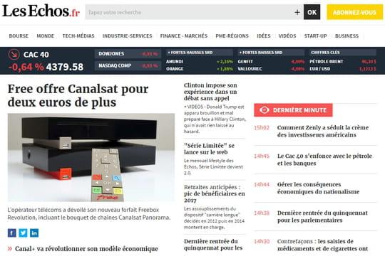 Lagardère Active et Les Echos - Le Parisien s'unissent face à Facebook et Google