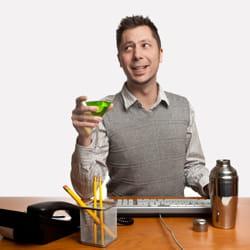 boisson et travail... un coktail détonnant.