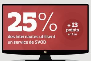 Canal+, Netflix, SFR, Amazon: le marché de la SVOD s'est structuré