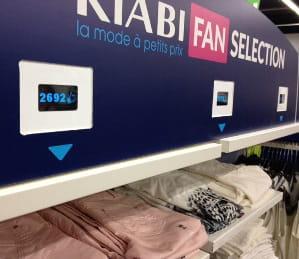 zone 'kiabi fan selection' expérimentée début mars