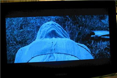 le film 'kingdom of heaven' en qualité blu-ray projeté sur tv lcd par le biais