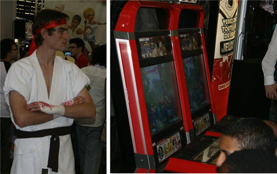 Ryu et Street Fighter