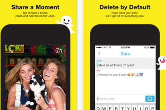 """Snapchat va diffuser des publicités """"pas trop élaborées"""""""