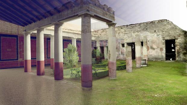 Restitution de Pompéi
