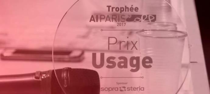 Les AI Paris Awards 2018décernés à Systran, Pricemoov et Taqadam