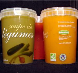 ces soupes peuvent constituer un plat complet grâce à leur conditionnement de