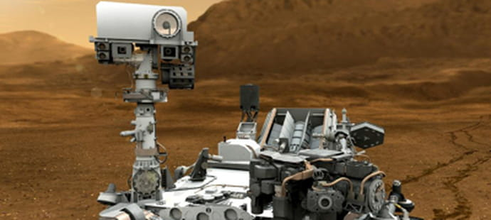 Le robot martien Curiosity victime d'une panne informatique