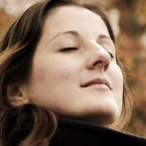 respirer profondément calme le corps.