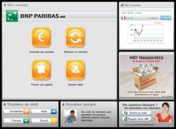 l'application ipad de bnp paribas